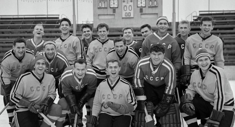 Команда СССР