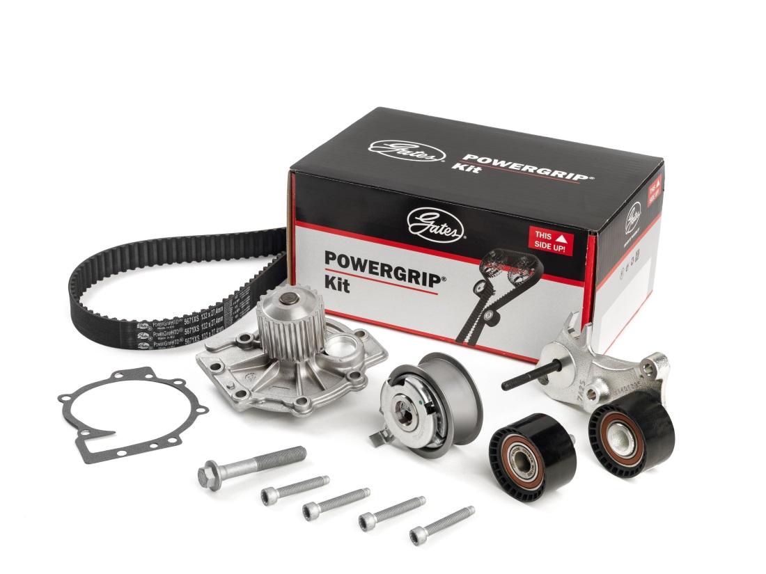 Gates - PowerGrip Kit plus Water Pump - Volvo_LR