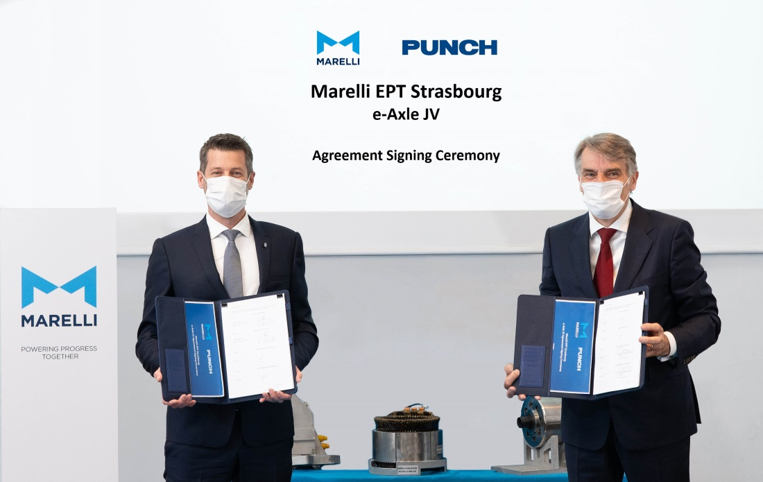MARELLI and PUNCH_Joint Venture agreement