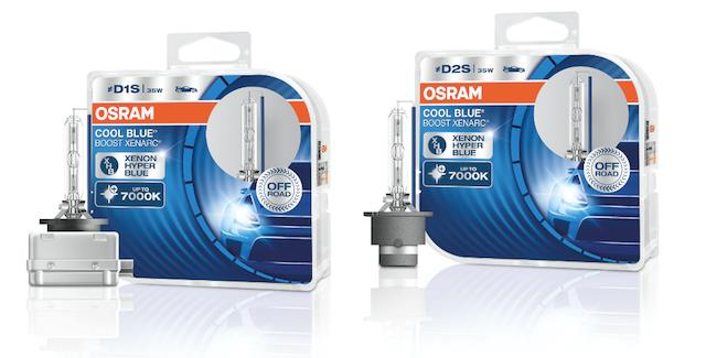 Новые ксеноновые лампы Osram: голубовато-белый свет с цветовой температурой 7000К