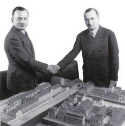 Герман и Эрнст Мале официально стали партнерами